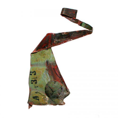 fragment recyclé no A-33 | cire , huile , crayon | 2015