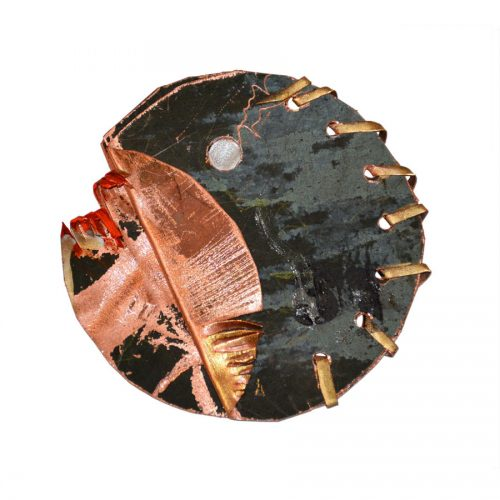 Lune cosmophore no MR-874 | cire , huile , crayon | 2015